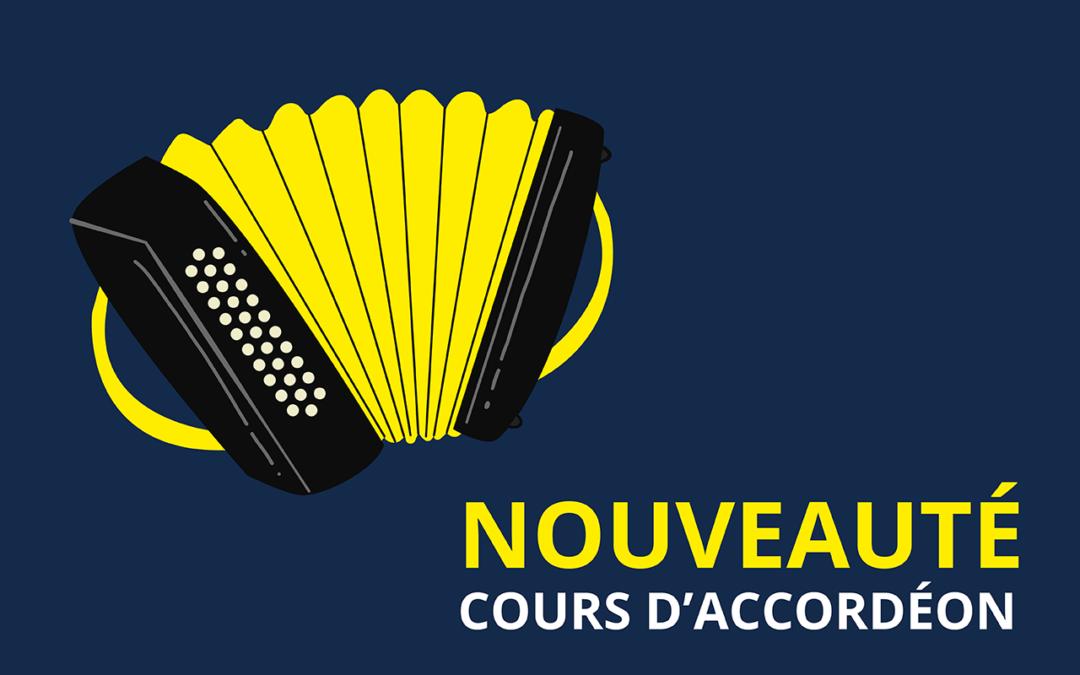NOUVEAU – Cours d'accordéon