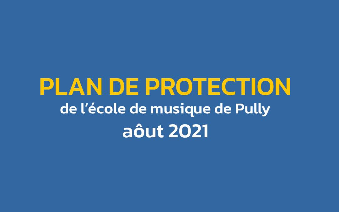 Plan de protection – août 2021
